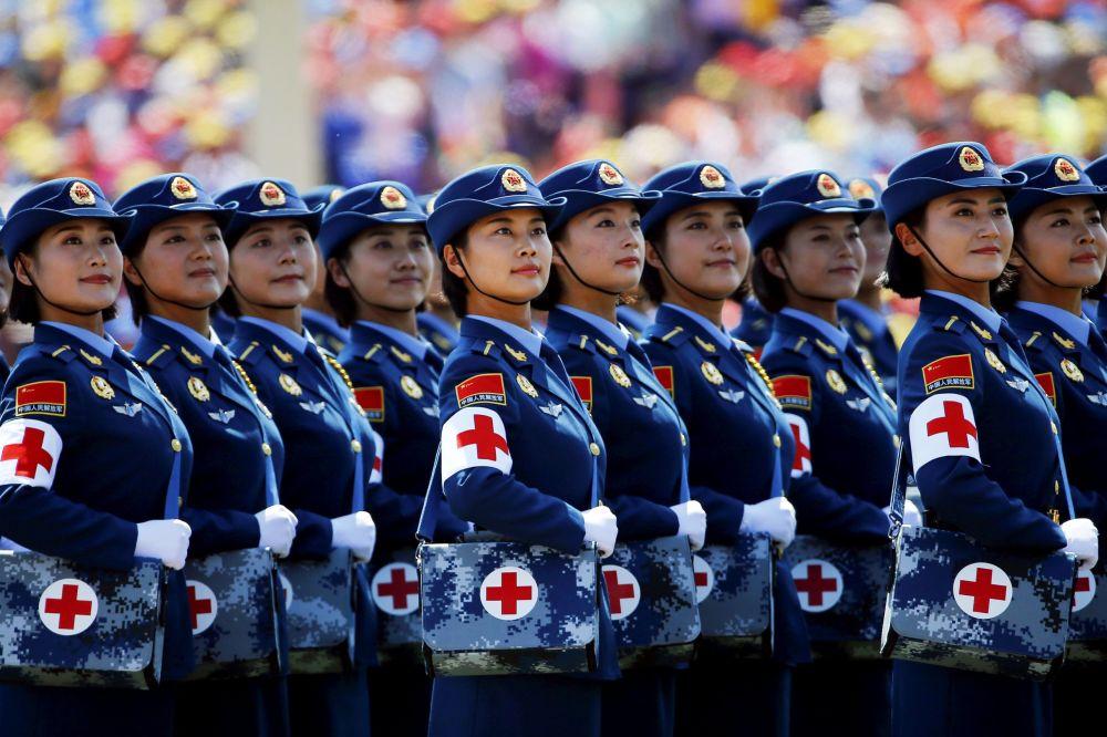 رژه نظامی در پکن
