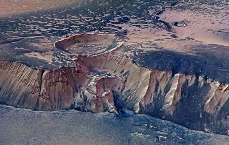 آب در سیاره سرخ