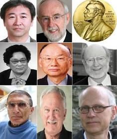 هشت برنده عالیترین جایزه علمی امسال جهان