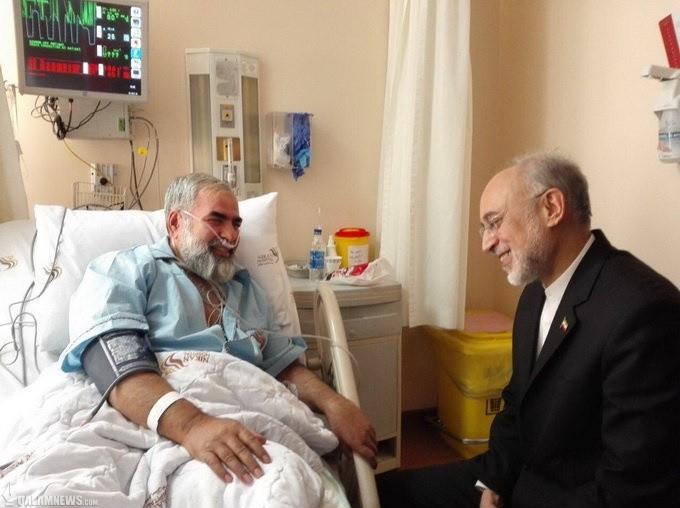 دکتر صالحی از حسینیان عیادت کرد