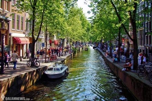رودخانه های زیبایی که از وسط این شهرها می گذرد