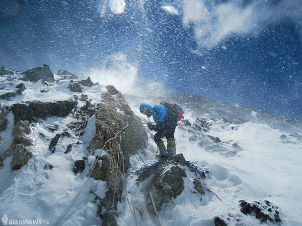 ۱۰ تصویر کوهستانی نشنال جئوگرافیک از سفری طاقت فرسا