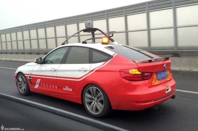 پیشرفت غول اینترنتی چین در تست خودروی خودران