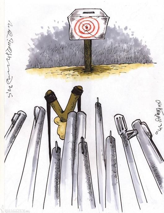 کفاشیان و انتخابات مشکوک!/ کاریکاتور