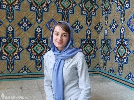 این دختر اوکراینی شیفتهء هنر ایران است