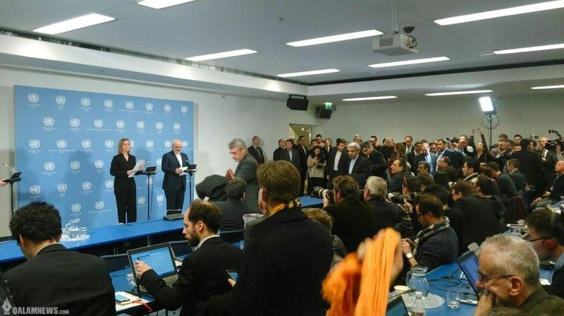 ظریف و موگرینی در بیانیه مشترک تاکید کردند / این توافق تاریخی، استوار و منصفانه است