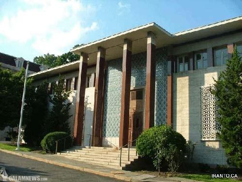 ساختمان ایرانی متروک در آمریکا به نام سفارت !