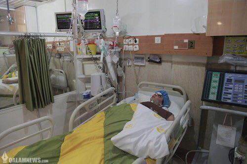 تصویری از دختر ملی پوشی که درحین خدمت تصادف کرد و حالا در فراموشی در بیمارستان درد می کشد