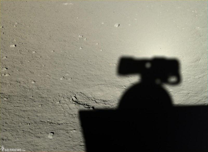 نخستین تصاویر اچدی از سطح ماه!