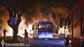 انفجار در آنکارا با ۲۸ کشته و ۶۱ زخمی