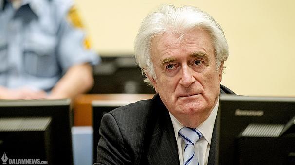 رادوان کاراجیچ، رهبر سابق صربهای بوسنی به دلیل ارتکاب جنایت جنگی و نسل کشی به ۴۰ سال زندان محکوم شد