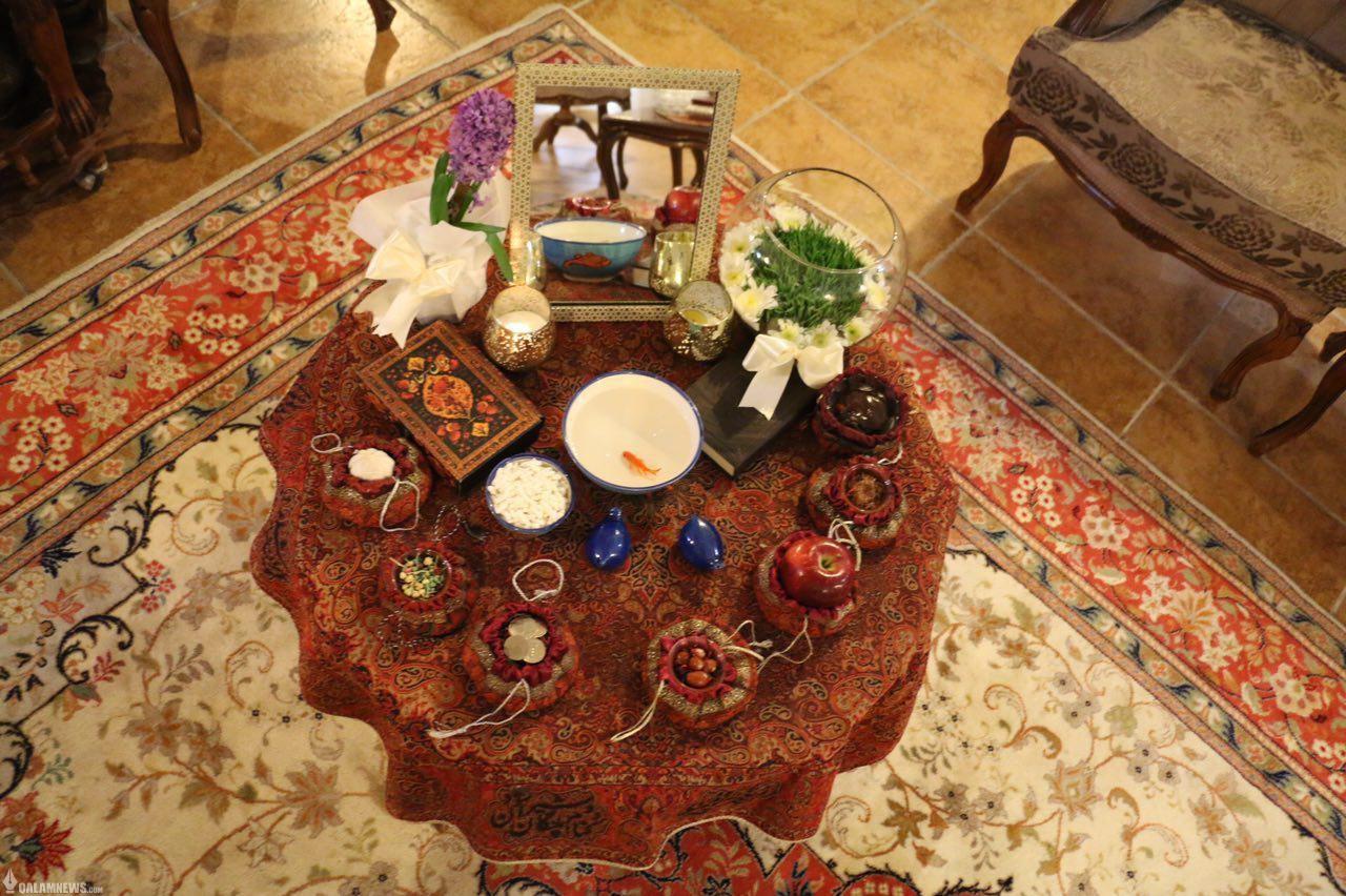 تصاویر ارسالی خوانندگان قلم از سفره های هفت سین عید