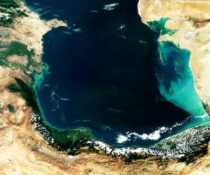 کاهش ۱٫۲ متری تراز آب خزر در شهریور ۹۴