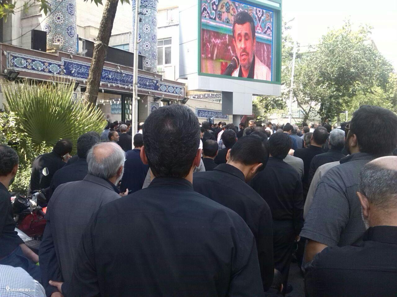 اردوکشی احمدی نژادیها به مسجد نارمک