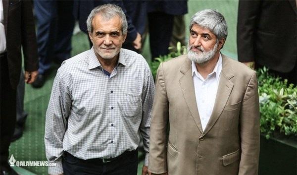 مطهری و پزشکیان نواب رئیس مجلس شدند