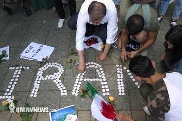محکومیت حملات تروریستی تهران در فرانکفورت+ تصاویر