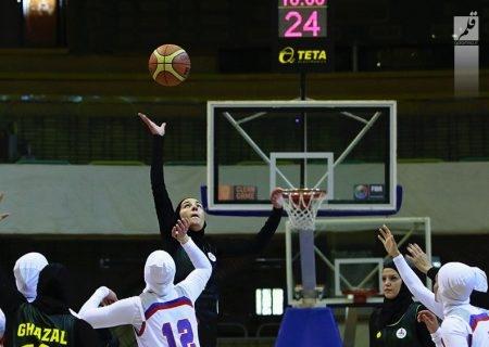 تیم بسکتبال شهرداری قزوین در مرحله پلی آف به میدان میرود