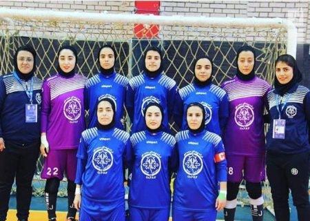 تساوی پویندگان فجر شیراز در لیگ برتر فوتسال بانوان