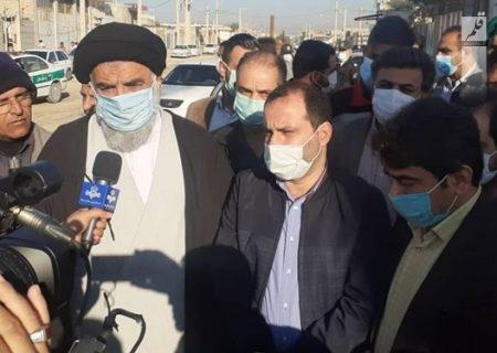 بازدید نماینده ولی فقیه در خوزستان و شهردار اهواز از طرحهای محرومیتزدایی