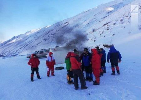 امداد به۲۲۵حادثه در ارتفاعات استان تهران/مردم به هشدارهاتوجه کنند