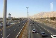 تردد عادی و روان در محورهای مواصلاتی استان تهران