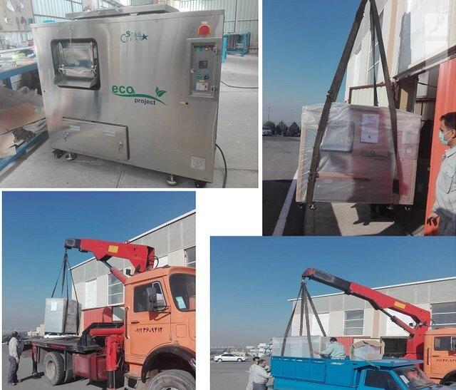 دستگاه بازیافت پسماندهای خانگی و صنعتی تجاریسازی شد