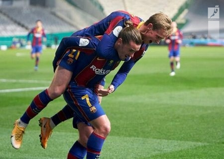 صعود بارسلونا به فینال سوپرجام اسپانیا