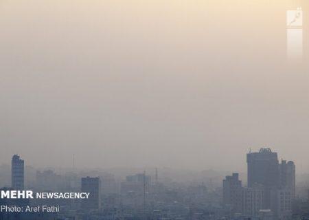 هشدار آلودگی هوا سطح زرد از امروز تا پنجشنبه در تهران
