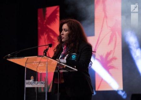 پاپاندرئا آمریکایی نامزد ریاست فدراسیون جهانی وزنه برداری شد