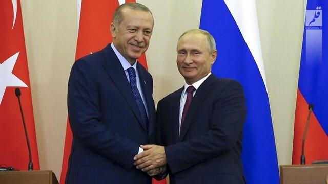 پوتین، اردوغان را در جریان نتایج دیدارش با رهبران جمهوری آذربایجان و ارمنستان قرار داد