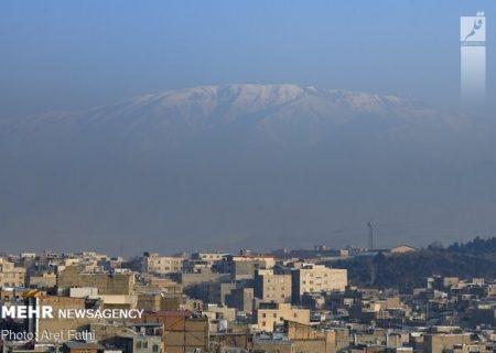 وضعیت هوای شاهین شهر قابل قبول/ هوای اصفهان و سگزی ناسالم است