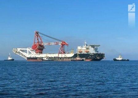 کشتی روسی پروژه نورد استریم ۲ تحریم شد