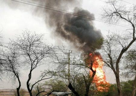 دو کشته و زخمی حاصل انفجار خط لوله گاز در خوزستان