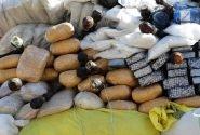 بیش از ۱۳۰ کیلوگرم انواع مواد مخدر در خوزستان کشف شد