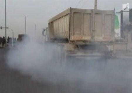 یکی از معضلات خمینی شهر ورود کامیون ها به داخل شهر است