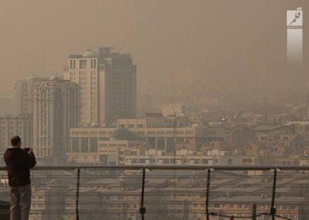 اصفهان همچنان بر مدار نارنجی آلودگی هوا است