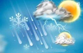 دمای هوا در ۲۴ ساعت آینده دو تا پنج درجه افزایش خواهد داشت