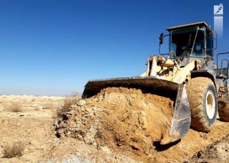 تخریب ساخت و سازهای غیر مجاز در مرودشت