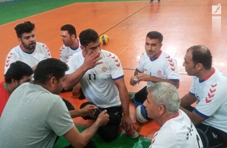موفقیت تیم والیبال نشسته بهزیستی فارس در لیگ دسته اول کشور