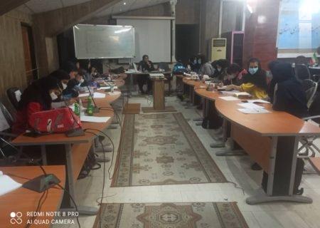 برگزاری کلاس داوری هندبال بانوان در شیراز