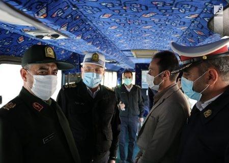 تقدیر رئیس پلیسراهور ناجا از راهاندازی اتوبوس فرهنگی شهرداری قم
