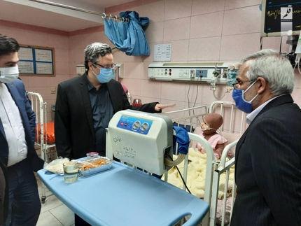بازدید معاونین حقوق بشر وزارت دادگستری از مرکز آموزش درمانی شهید مطهری