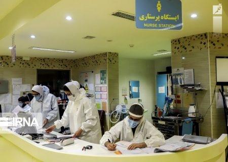 بستری ۶۱ نفر بیمار مبتلا به کرونا در مراکز درمانی