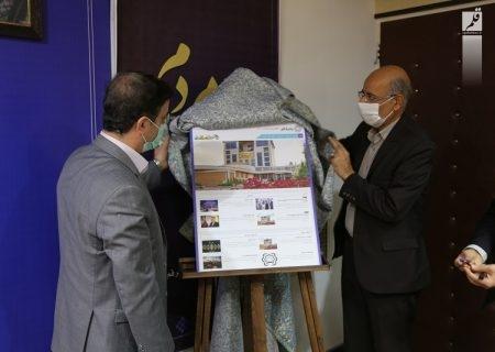 نسخه عربی سایت شهرداری قم رونمایی شد