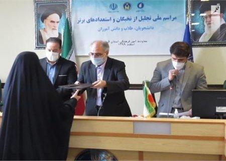 نخبگان و استعدادهای برتر کمیته امداد استان قم تجلیل شدند
