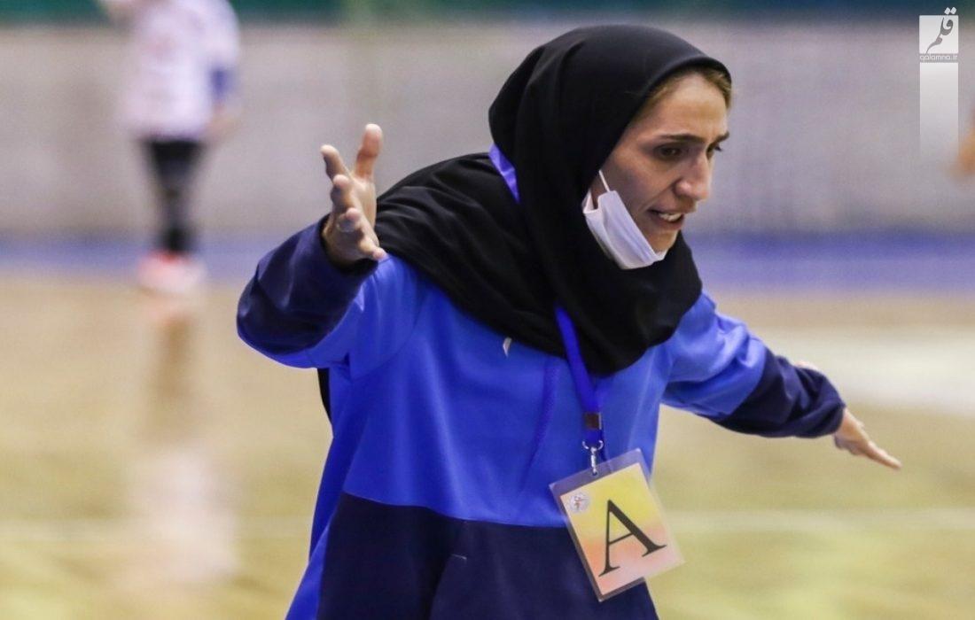 بانوی فارسی سرمربی تیم ملی هندبال نوجوانان ایران