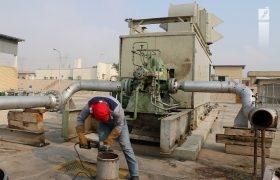 نصب و راه اندازی توربین ۲۰۴ مرکز انتقال نفت قطب آباد