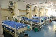 افزایش تخت های بیمارستان گلستان