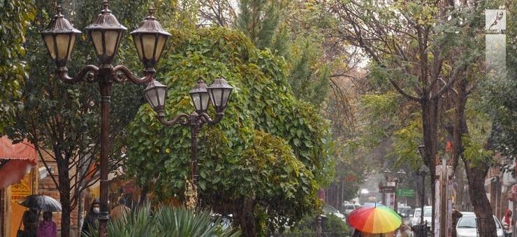 ورود امواج بارش زا جدید به استان از روز شنبه