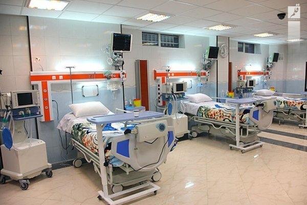 بستری ۵۰ بیمار جدید حاد تنفسی در بیمارستانهای منطقه کاشان